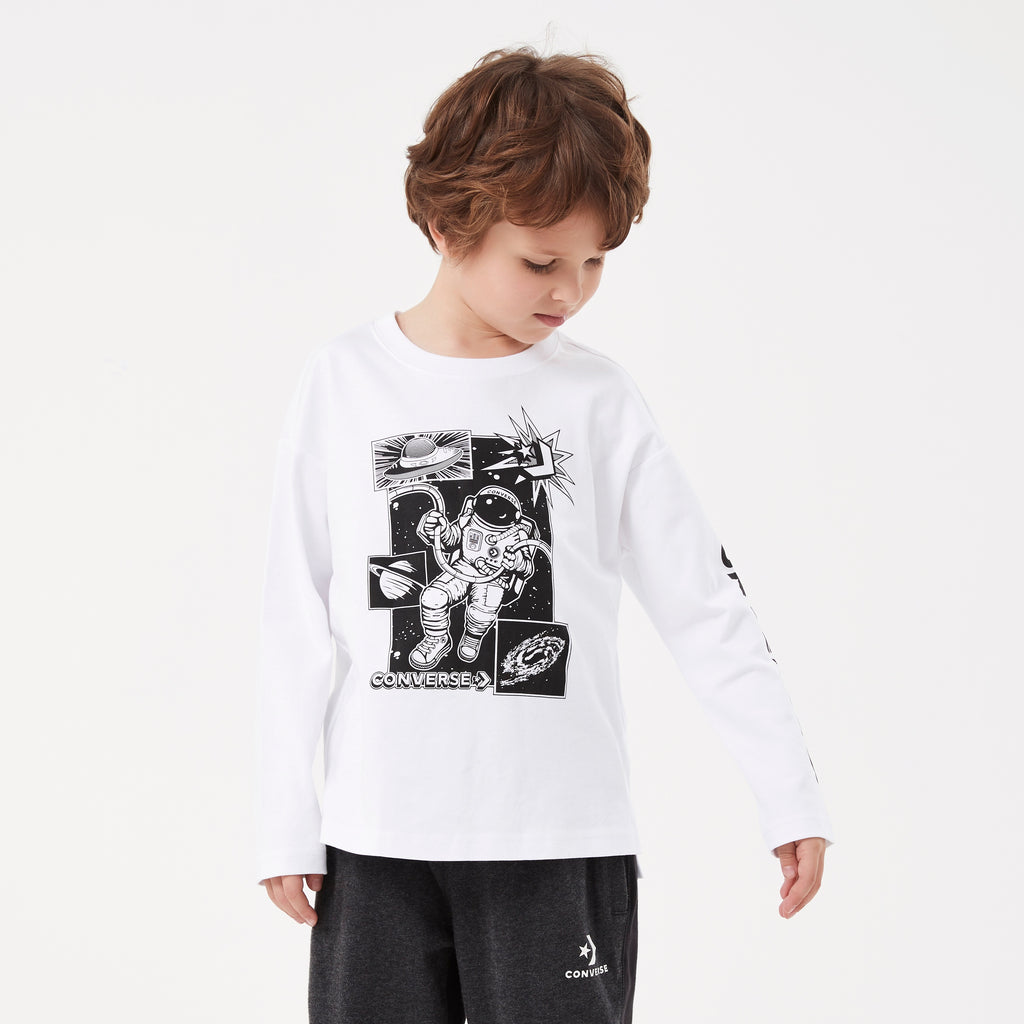 CONVERSE Boys Long Sleeve T-Shirt