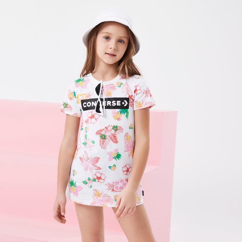 CONVERSE Girls Short Sleeve Dress