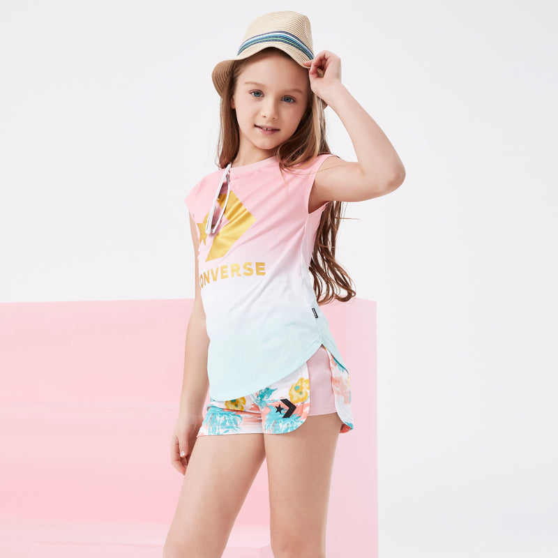 CONVERSE Girls Short Sleeve Tee