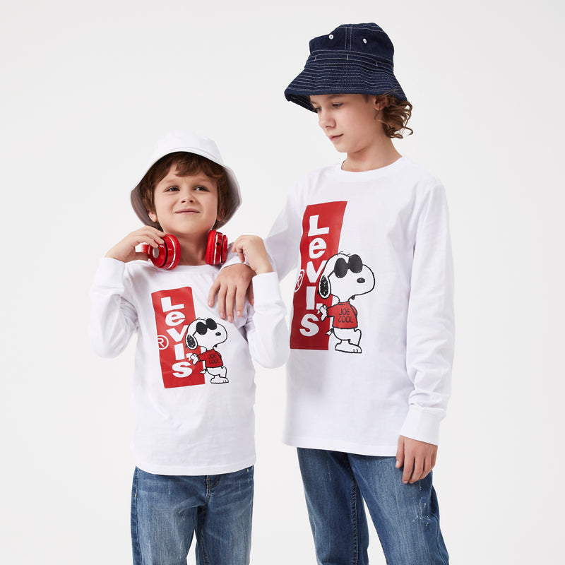 LEVI'S Snoopy Long Sleeve T-Shirt