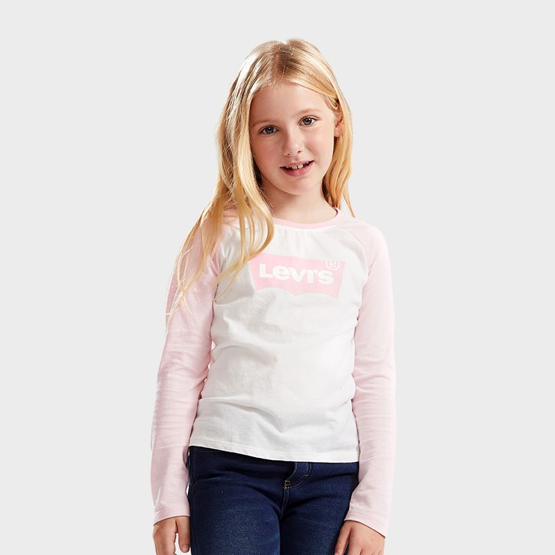 LEVI'S Girl's Long Sleeve T-Shirt