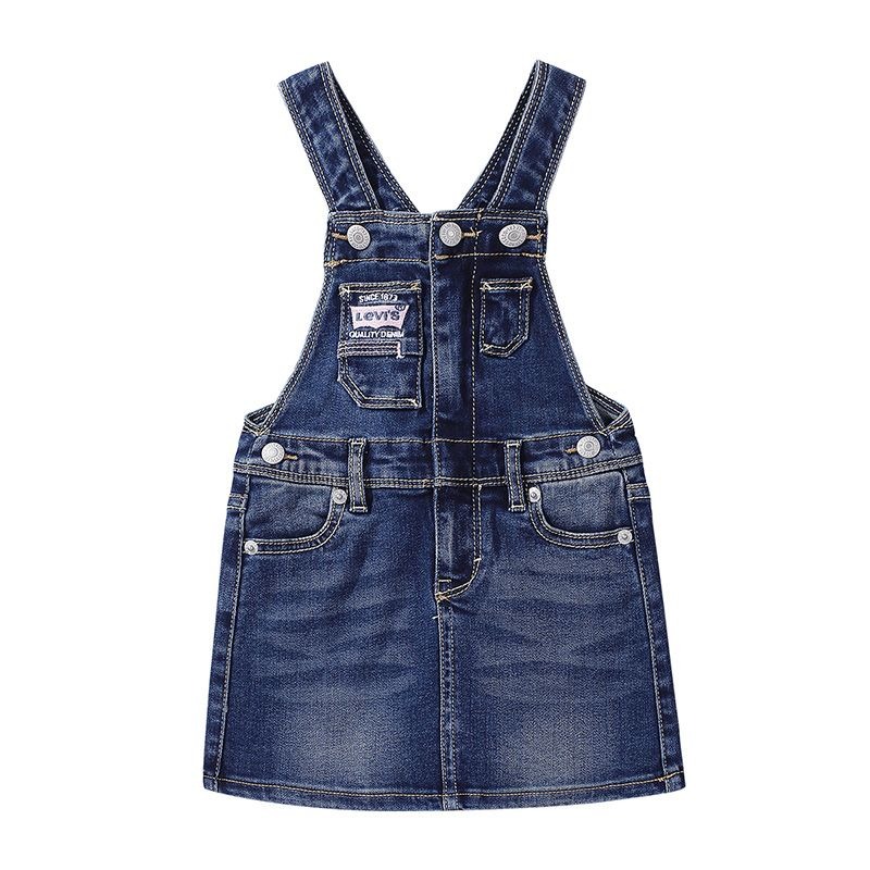 LEVI'S Suspender Skirt