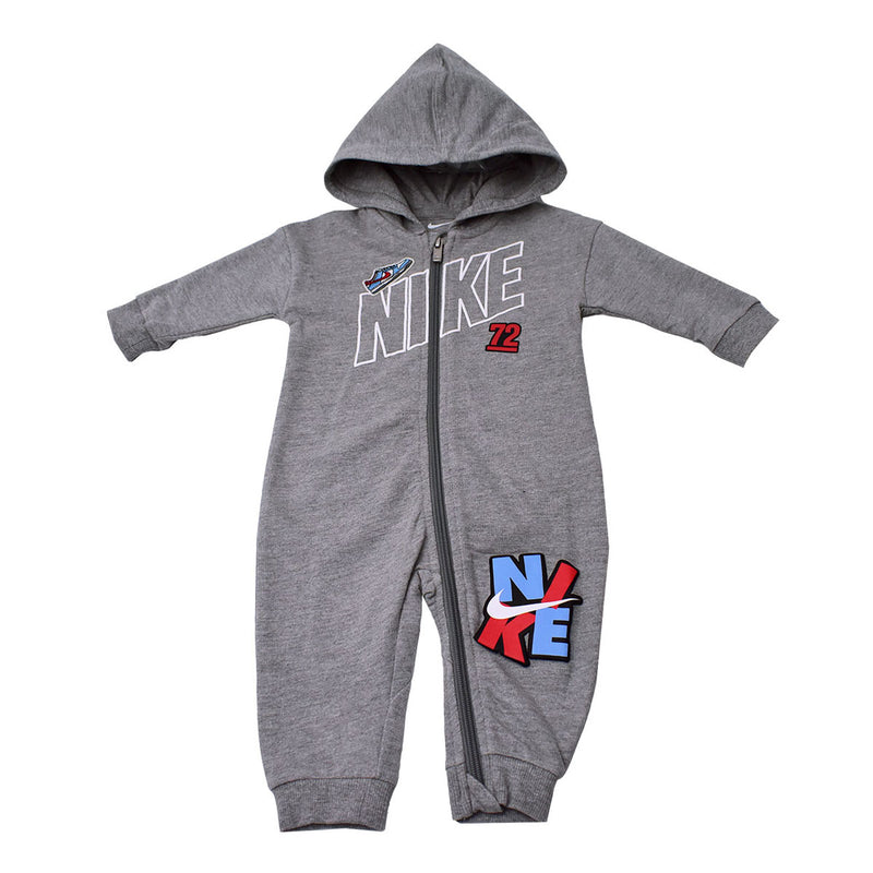 NIKE Baby Long Sleeve Full Zip Creeper