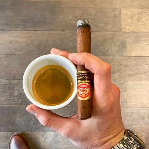 Partagas Maduro No.3 Cigar and Coffee