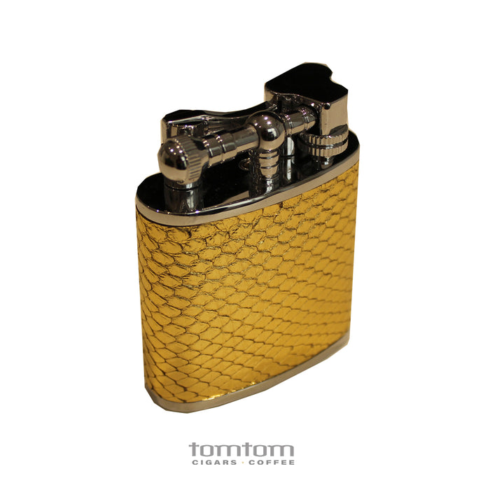J Cure Table Lighter - Python Skin