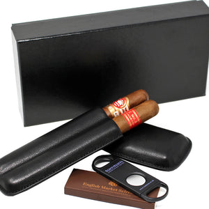 Cigar Selection Leather Case