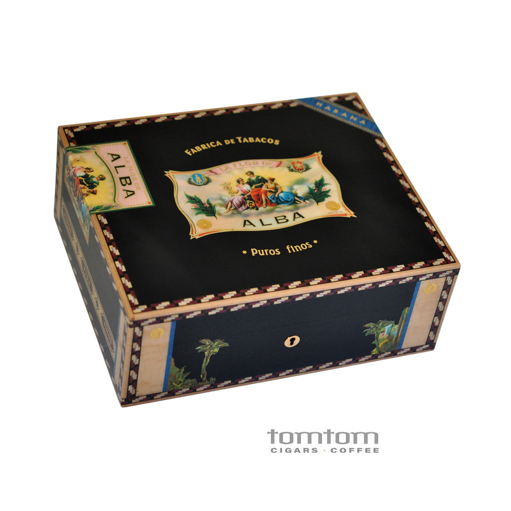 Elie Bleu Alba Humidor in Black (110 cigars)