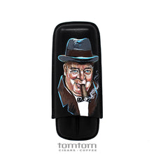 Load image into Gallery viewer, Italian Calf Leather Case - Churchill Portrait Edition