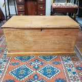 19th Century Pine Blanket Box