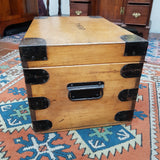 Early 20th Century Pine work / School box
