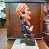 Original Vintage Wills's Pirate Shag Advertising Figure
