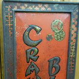 Vintage Crawfords Biscuits Tin Sign