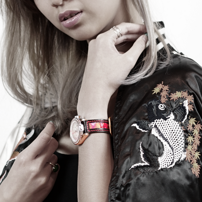 Watch brand collaboration: 47Ronin x Jackie, The Abingdon Co. Pilot Watches for Ladies