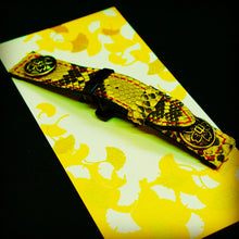 Load image into Gallery viewer, 47Ronin#103 Yellow Python skin (22mm, red stitches)