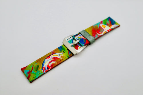 47Ronin#095 Hand-painted calf leather (26mm)