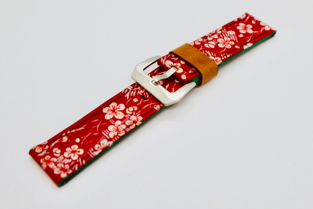 47Ronin#094 Hand-painted calf leather (26mm)