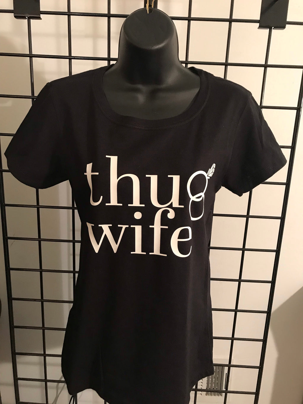 Thug Wife Women's Fitted Tee - Closeout
