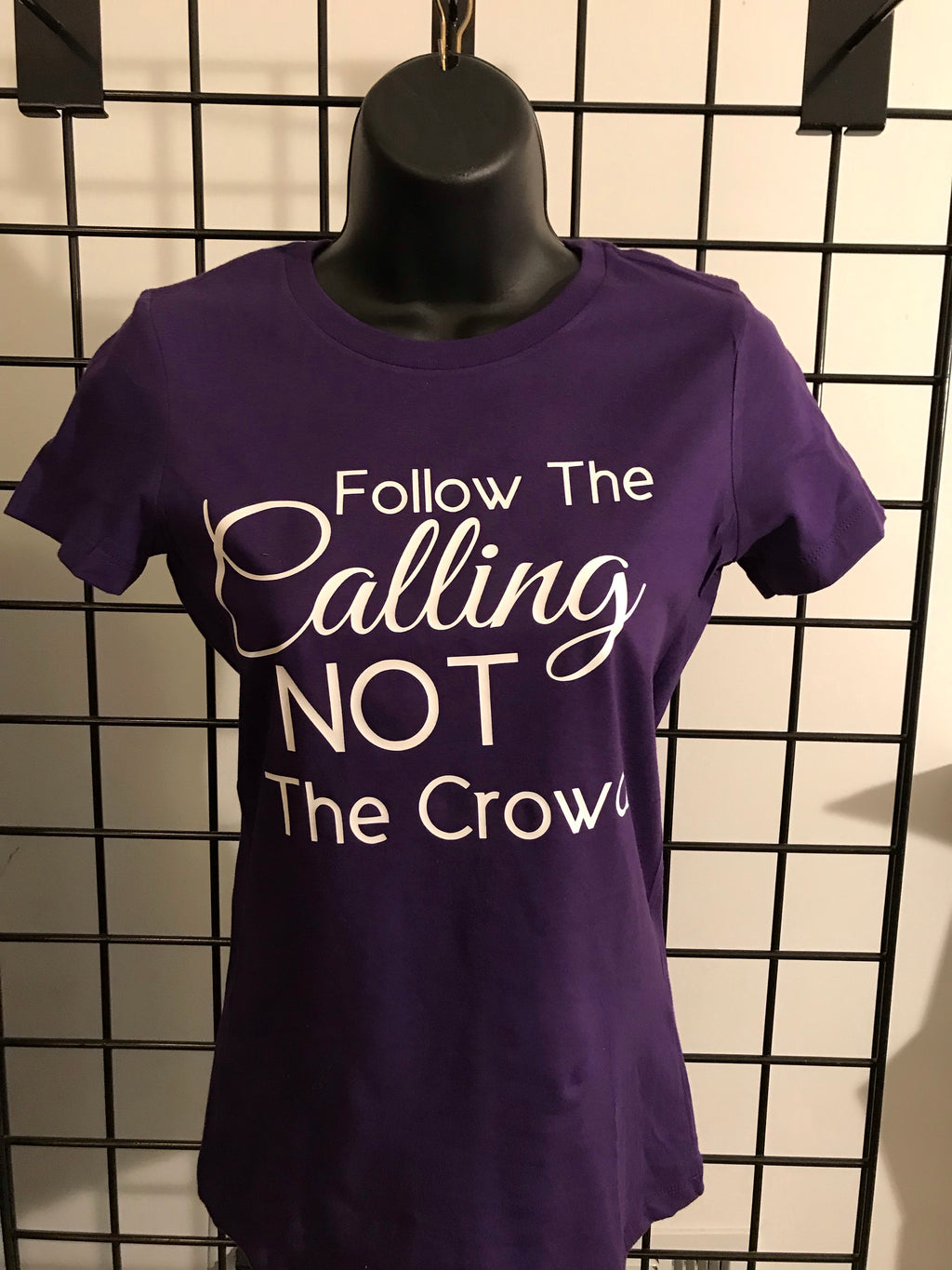 Follow The Calling Women's Fitted - Closeout