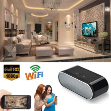 Load image into Gallery viewer, Wireless HD 1080P Nanny Camera Alarm Clock Security Cam