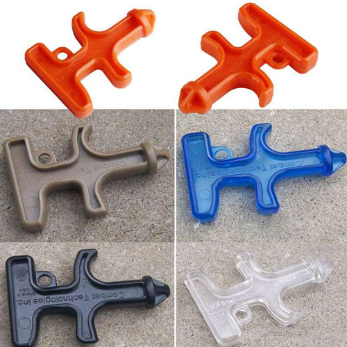Plastic Self Defense Combat Key Tool