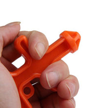 Load image into Gallery viewer, Plastic Self Defense Combat Key Tool