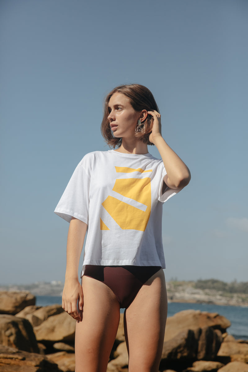 organic cotton oversized tee