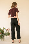 Black KowTow Stage Pant