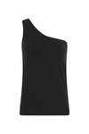 organic cotton one shoulder tank