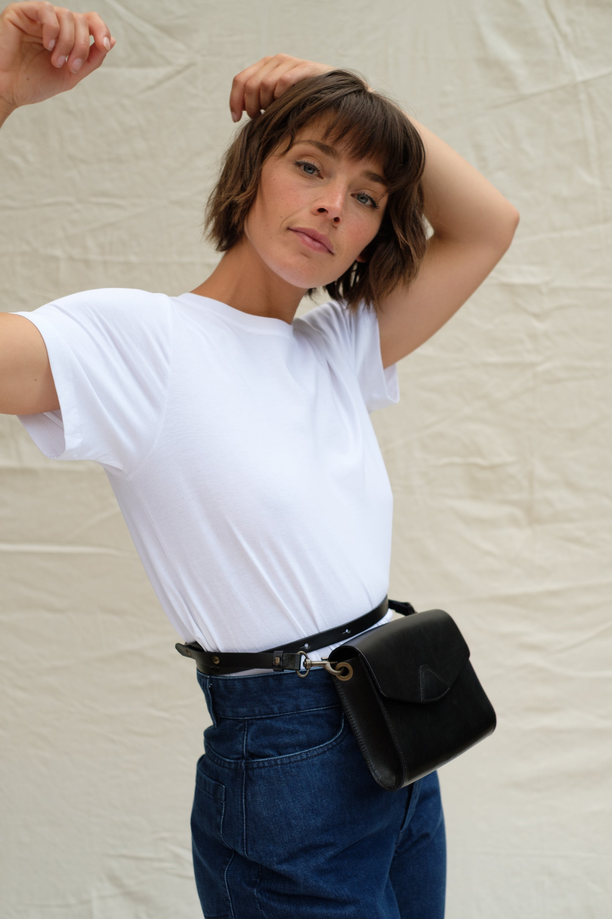 ethical leather bag minimalist Australia