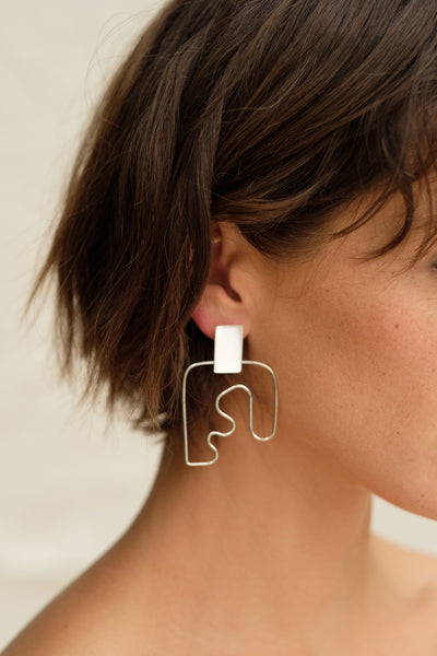 Two Hills Earring No. 8 motherloverco