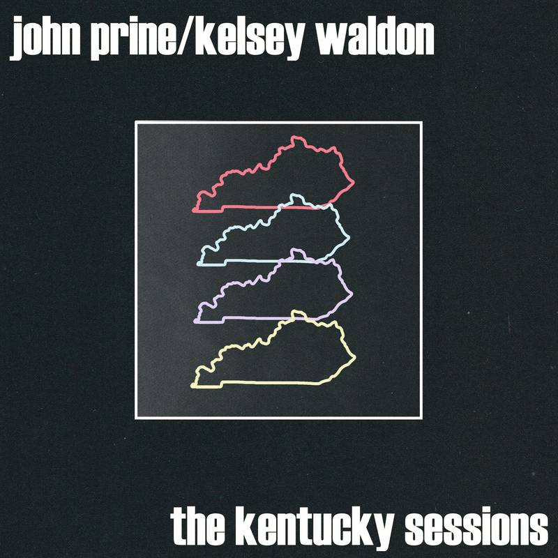 "JOHN PRINE/KELSEY WALDON - THE KENTUCKY SESSIONS - 7"" WHITE VINYL - RSD 2020"