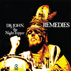 DR JOHN - REMEDIES - MARDI GRAS SPLATTER-COLOURED VINYL LP - RSD 2020