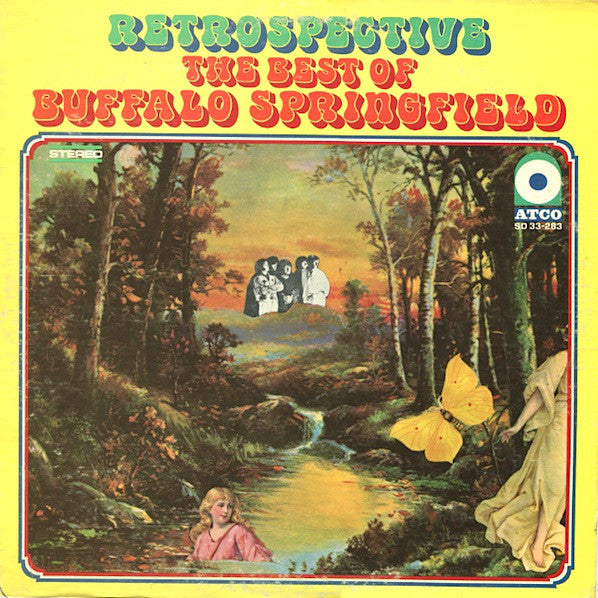 BUFFALO SPRINGFIELD- THE BEST OF RETROSPECTIVE  (US PRESSING)
