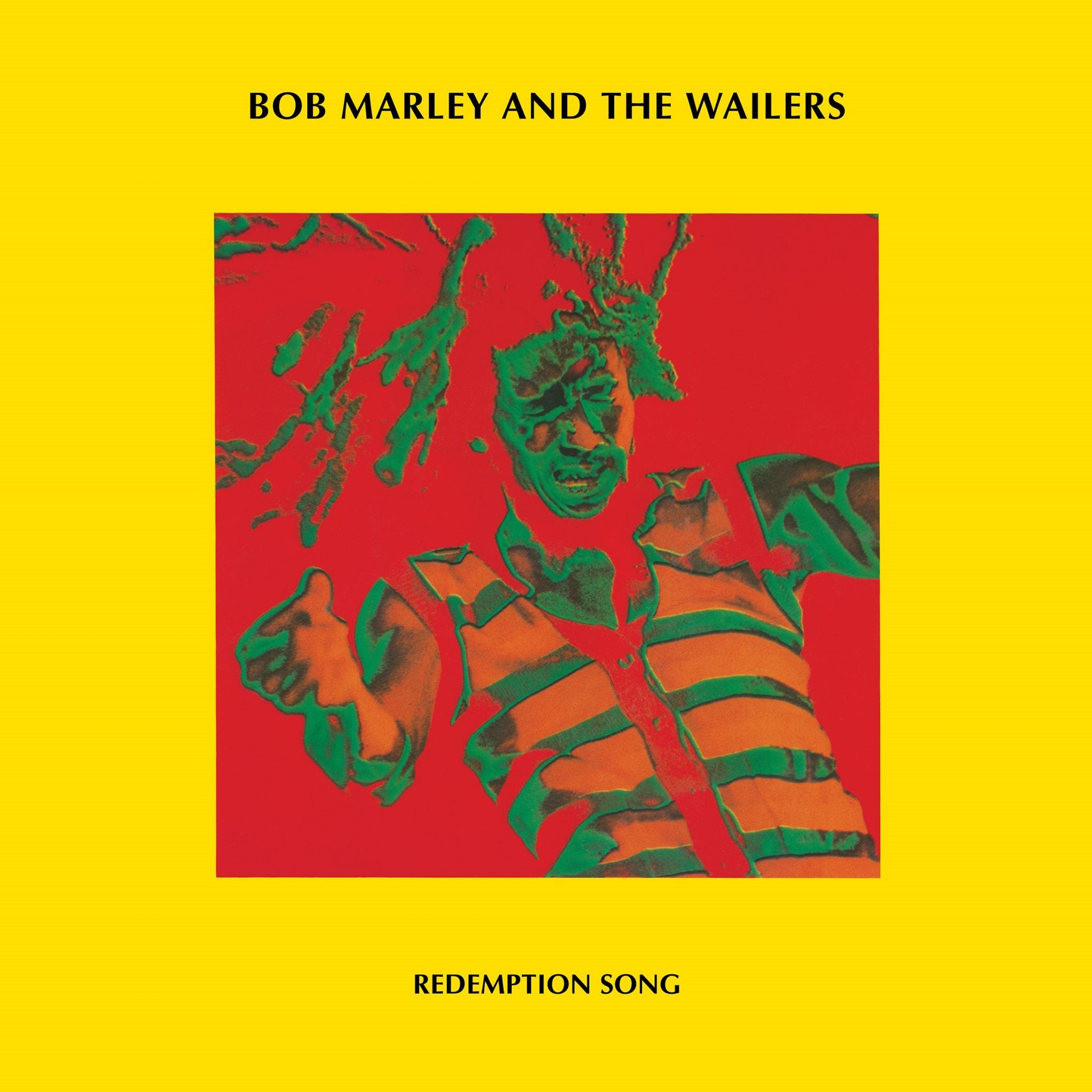 "BOB MARLEY & THE WAILERS - REDEMPTION SONG - Clear 12"" Vinyl - RSD 2020"