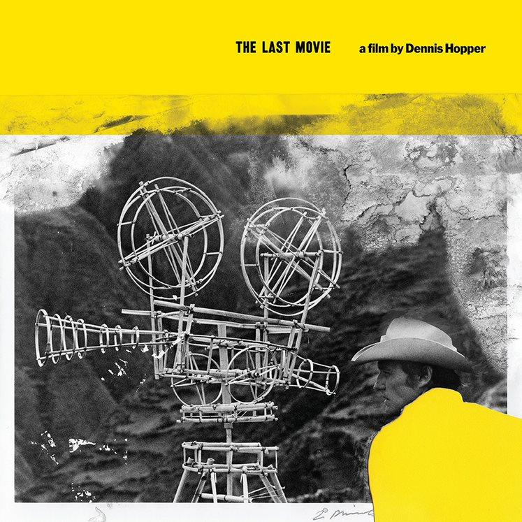 THE LAST MOVIE - A FILM BY DENNIS HOPPER -  SOUNDTRACK - LTD EDITON YELLOW VINYL LP  - RSD 2020