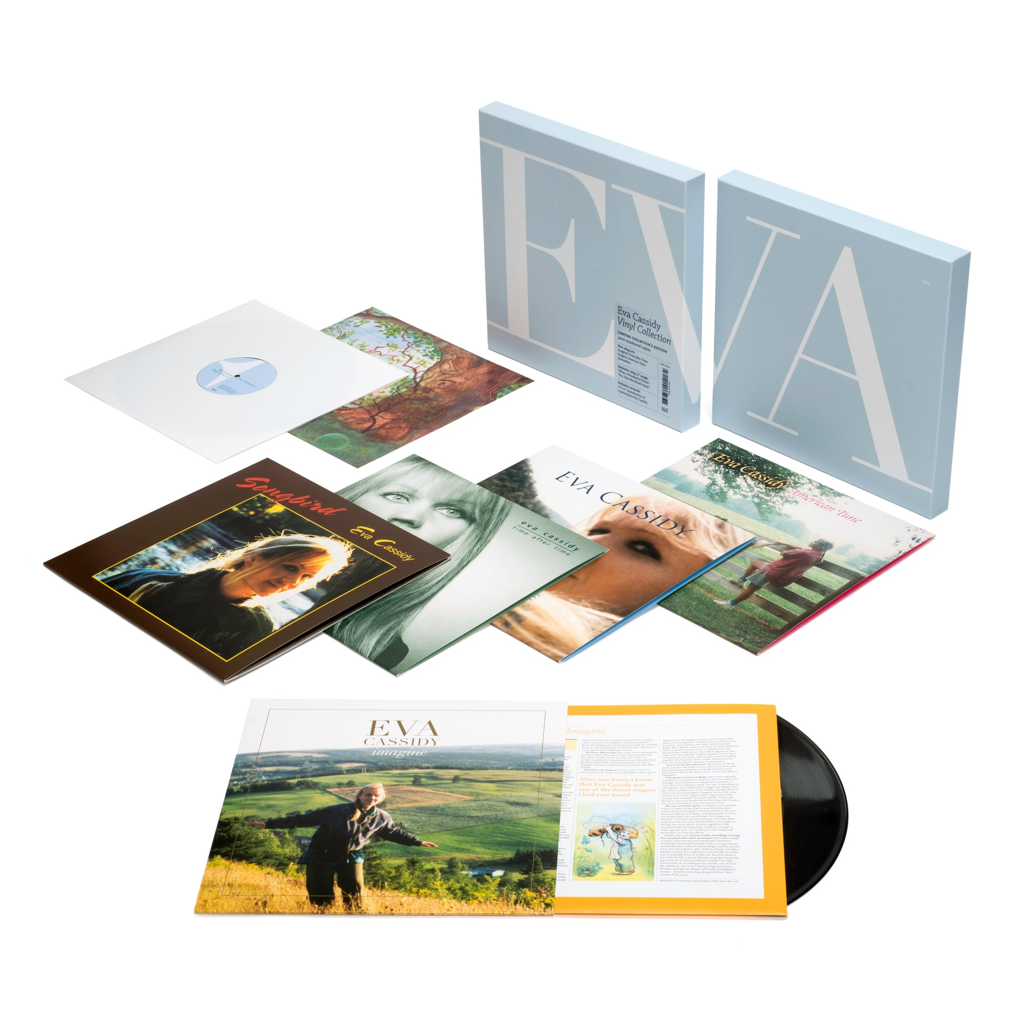 EVA CASSIDY - VINYL COLLECTION- LIMITED COLLECTORS EDITION