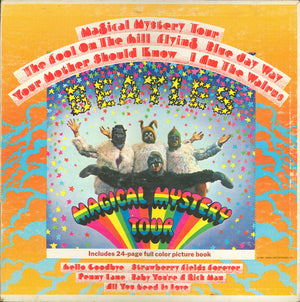 THE BEATLES - MAGICAL MYSTERY TOUR - VINYL LP - Wah Wah Records
