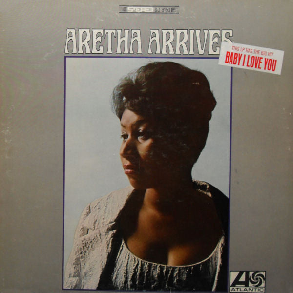 ARETHA FRANKLIN - ARETHA ARRIVES - VINYL LP - Wah Wah Records