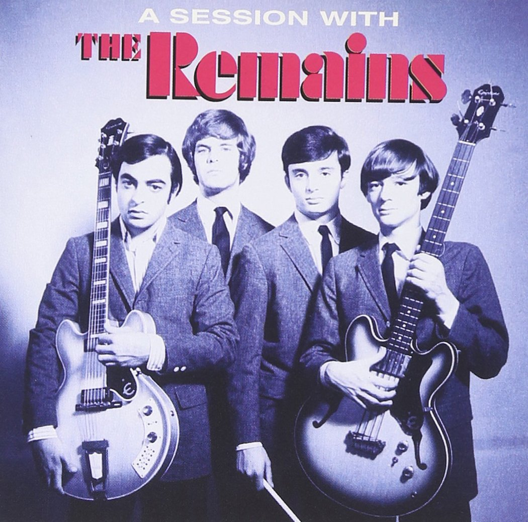 THE REMAINS - A SESSION WITH THE REMAINS - COLOURED VINYL LP - Wah Wah Records