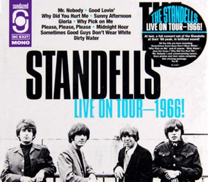 THE STANDELLS - LIVE ON TOUR 1966!