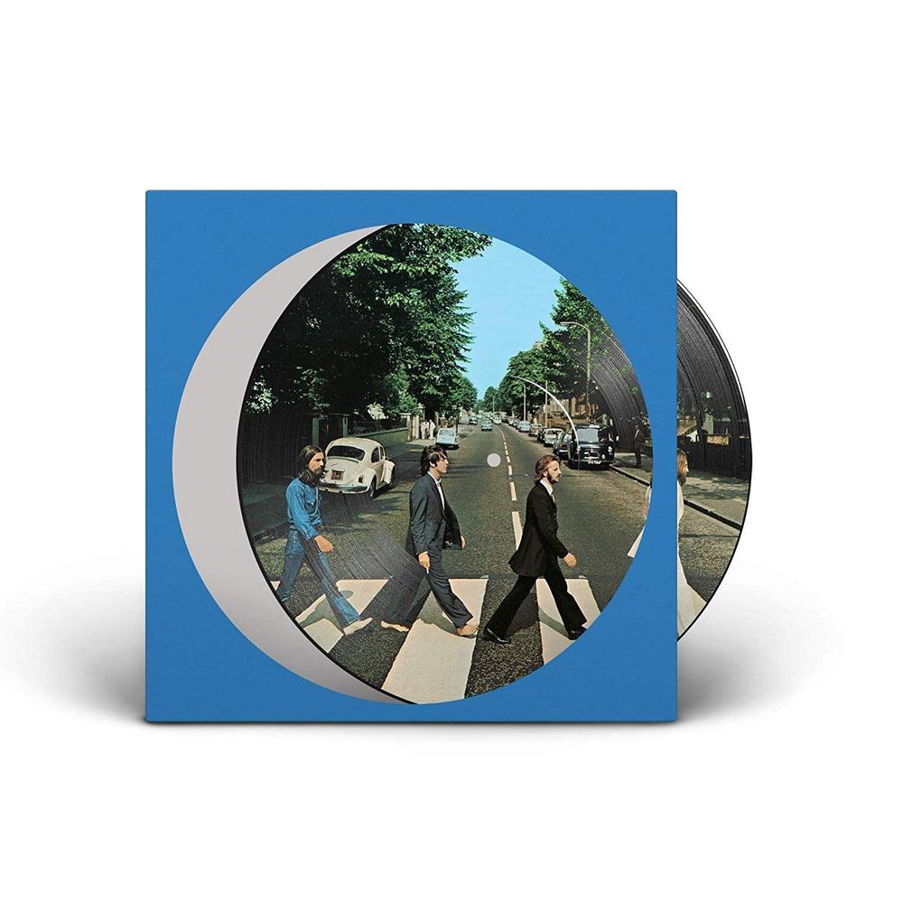 THE BEATLES - ABBEY ROAD - 50th ANNIVERSARY PICTURE DISC - VINYL LP - Wah Wah Records