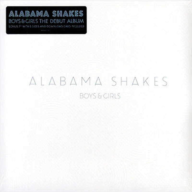 ALABAMA SHAKES - BOYS & GIRLS - LP Bonus 7'' VINYL - Wah Wah Records