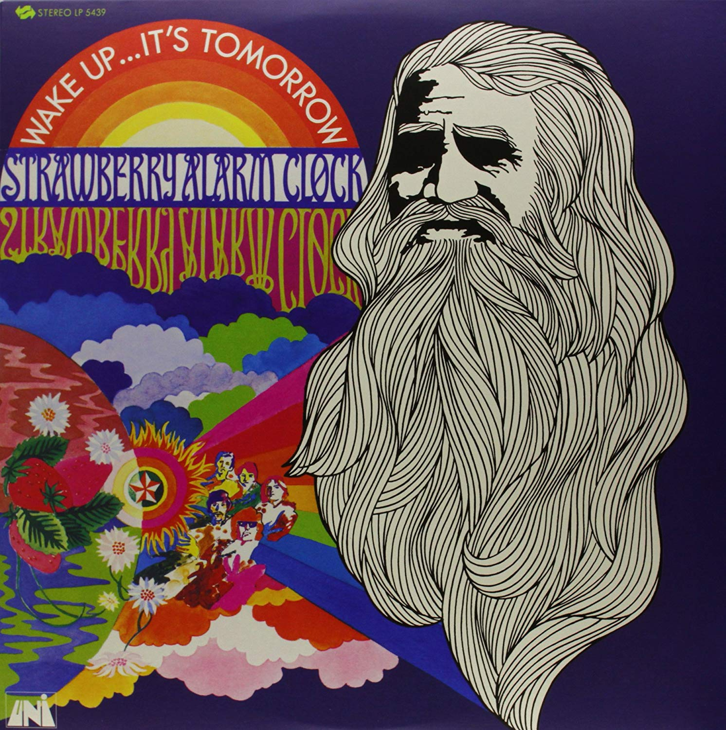 STRAWBERRY ALARM CLOCK- WAKE UP...IT'S TOMORROW - VINYL LP - Wah Wah Records
