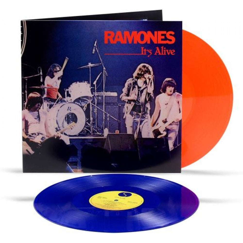 Ramones - It's Alive - 40th Anniversary - 2LP (blue/red) VINYL - Wah Wah Records