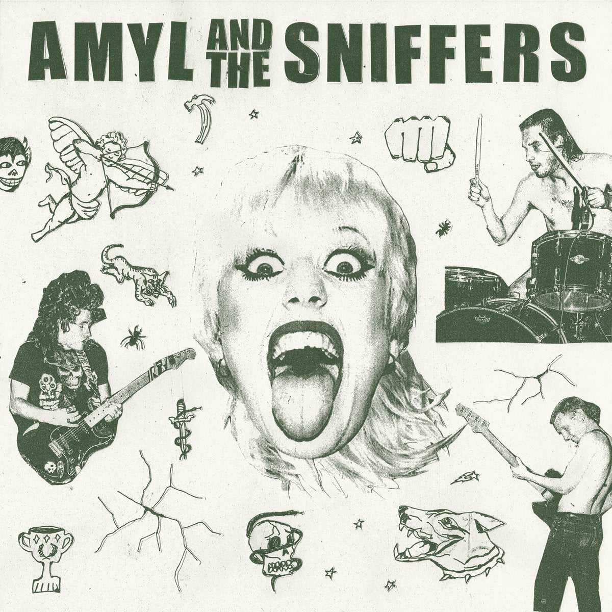 Amyl and the Sniffers - Limited Edition Coloured - VINYL LP - Wah Wah Records