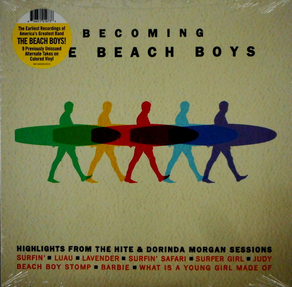 THE BEACH BOYS - BECOMING THE BEACH BOYS - VINYL LP - Wah Wah Records