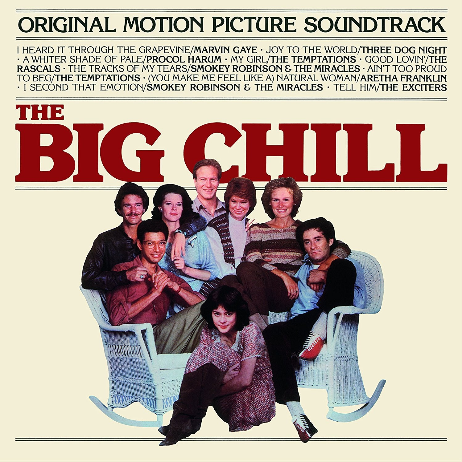 THE BIG CHILL - ORIGINAL MOTION PICTURE SOUNDTRACK - LTD EDITON COLOR VINYL LP - Wah Wah Records