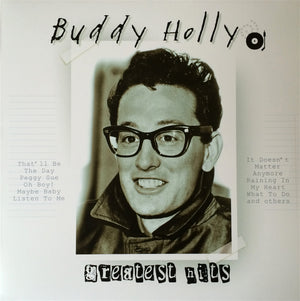 BUDDY HOLLY - GREATEST HITS - VINYL LP - Wah Wah Records