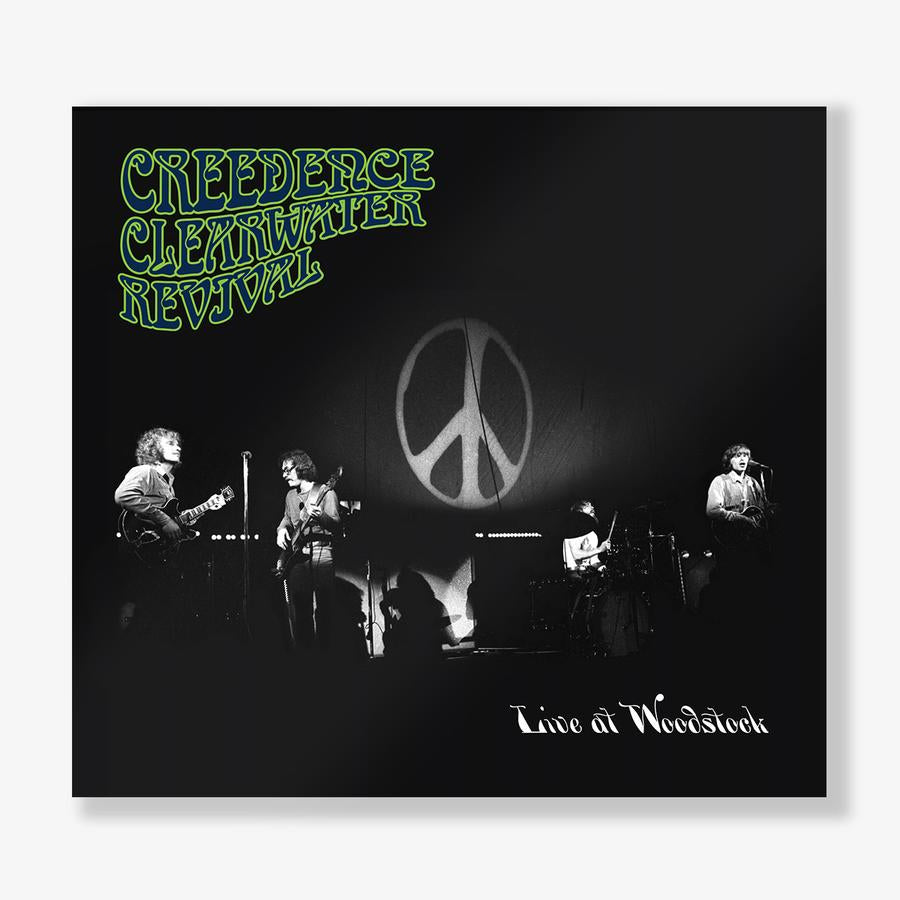 CREEDENCE CLEARWATER REVIVAL- LIVE AT WOODSTOCK (2LP)