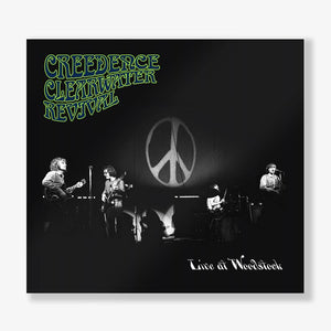 CREEDENCE CLEARWATER REVIVAL- LIVE AT WOODSTOCK (2LP) Vinyl - Wah Wah Records
